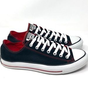 New CONVERSE CHUCKTAYLOR ALL STAR LOW TOP BLACK9.5
